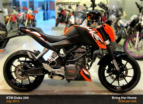 Ktm Duke 200 Orange Ktm Duke 200 Orange Used 2013 Bike For Sales