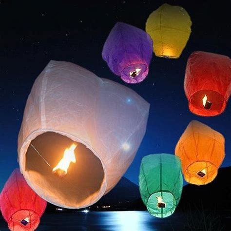 How To Make A Sky Lantern Out Of Paper - wholesale resistant flying paper sky lanterns buy