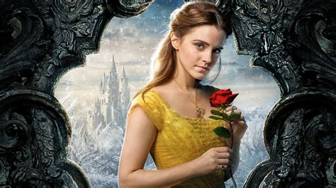 emma watson beauty and the beast wallpaper belle emma watson beauty and the beast 5k