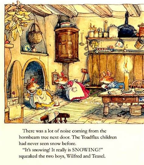winter story brambly hedge books brambly hedge winter story by barklem ilustraciones