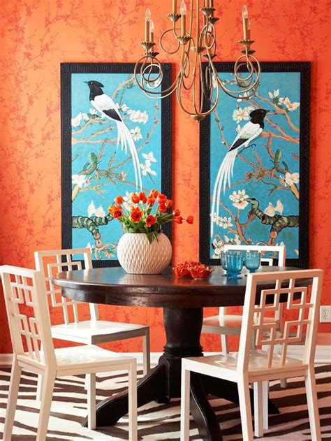 blue and orange decor orange blue decor