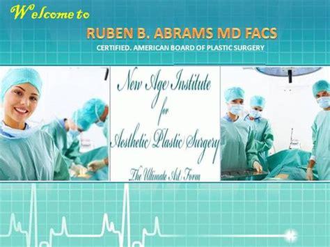 ruben b abrams facs beverly hills plastic surgery center tummy tuck surgery following pregnancy or weight loss