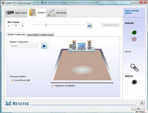 Hd Audio F Audio by Realtek Hd Audio Codecs Driver R2 71 Windows Vista 7 8