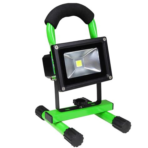 Cordless Work Light by 10w Portable Cordless Work Light Rechargeable Led Flood