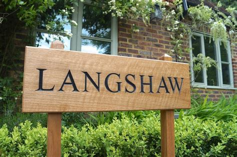 house signs personalised wooden house signs makemesomethingspecial