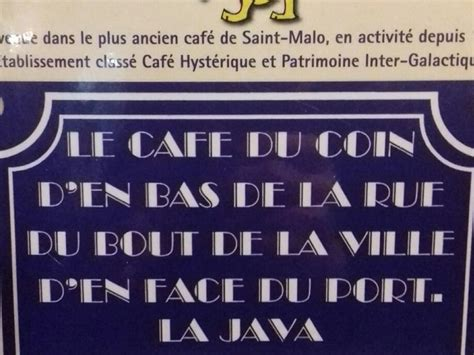 dans le cafe de saint malo dans le caf 233 le plus d 233 jant 233 de bretagne