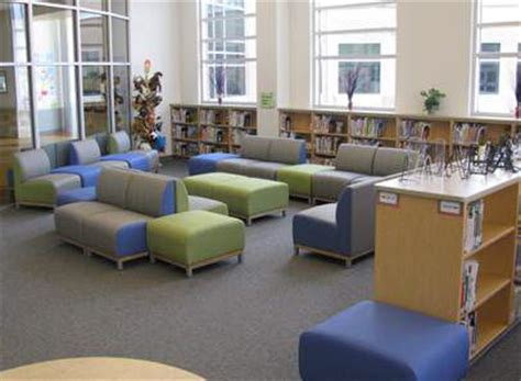 Library Couches by Library Furniture Wolfe Elementary Library Spaces