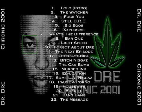 Dr Dre Detox List Of Songs by Album Of The Week The Daily Dose Of Hip Hop