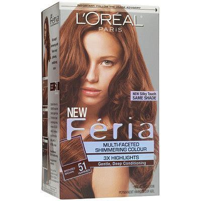 feria de loreal hair color chart l or 233 al feria multi faceted shimmering colour bronzed