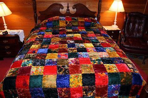 Velvet Patchwork Bedspread - 255 best velvet various forms of images on