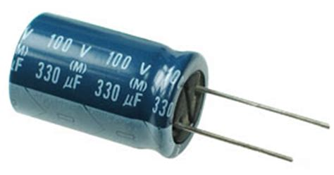 low leakage capacitor type 330uf 100v radial electrolytic capacitor