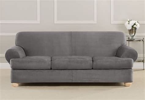 gray t cushion slipcover grey sofa slipcover t cushion www energywarden net
