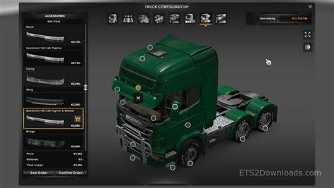 sunshield   scania euro truck simulator  mods