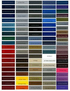 auto paint codes dupont automotive refinish colors ppg ditzler automotive finishes