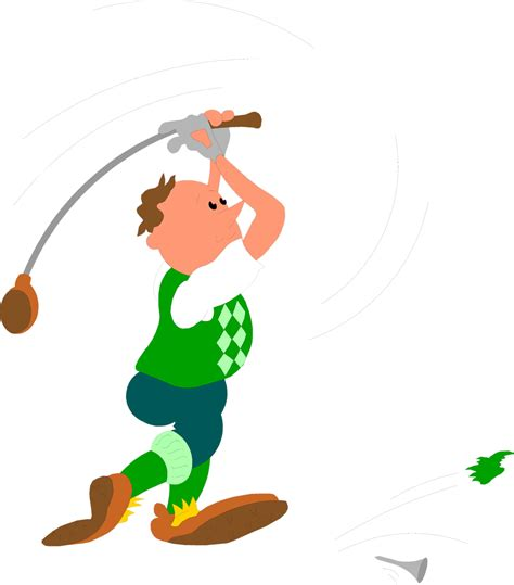 golf swing clip art golf free stock photo illustration of a man hitting a