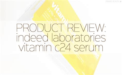 Indeed Labs Vitamin C24 review indeed labs vitamin c24 prairie