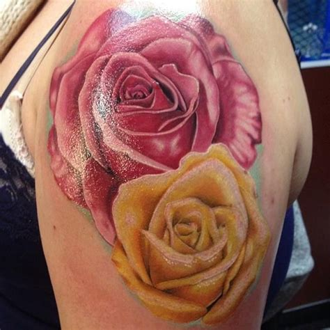 small yellow rose tattoo 28 best yellow tattoos