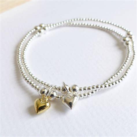 sterling silver beaded bracelet sterling silver tiny beaded bracelet by evy designs