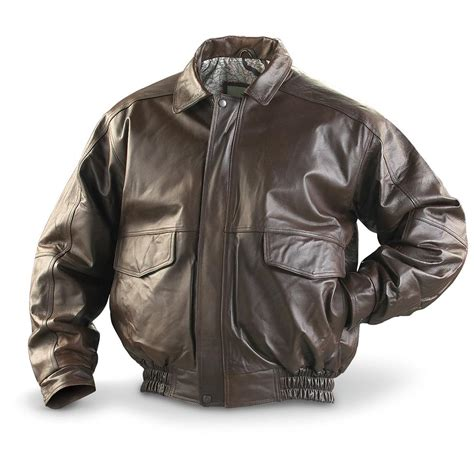 leather bomber jacket burks bay 174 buffed leather bomber jacket 146956 insulated jackets coats at sportsman s guide