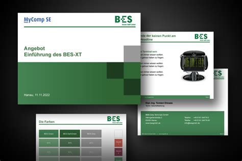 Website Design Vorlage Powerpoint Frankfurt