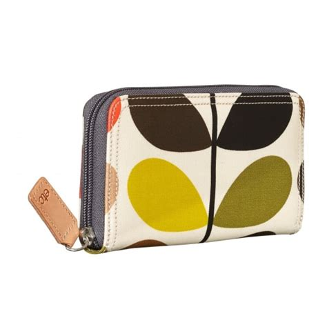Matching Abacus Wallet Set By Orla Kiely by Orla Kiely Multi Stem Big Zip Wallet Purse Hurn And Hurn