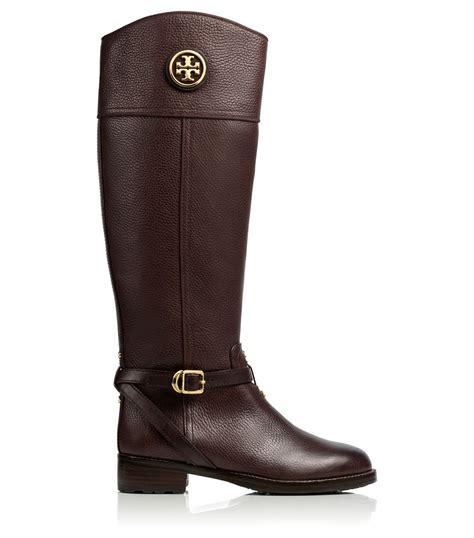burch boots sale burch teresa boot in brown coconut lyst