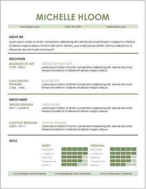curriculum vitae plantilla editable 50 mejores plantillas de curriculum vitae gratis para