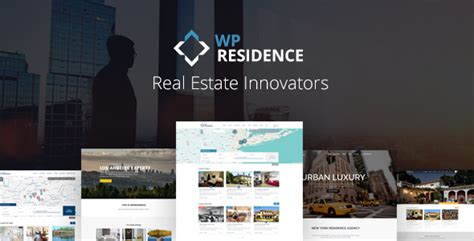 themeforest real estate residence real estate wordpress theme by annapx themeforest
