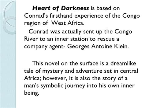 major themes in the novel heart of darkness uncertainty in hod