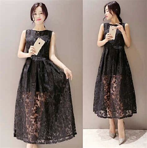 Korea Dress Pendek Brukat Mini Dress Brokat 436 jual dress kebaya newhairstylesformen2014