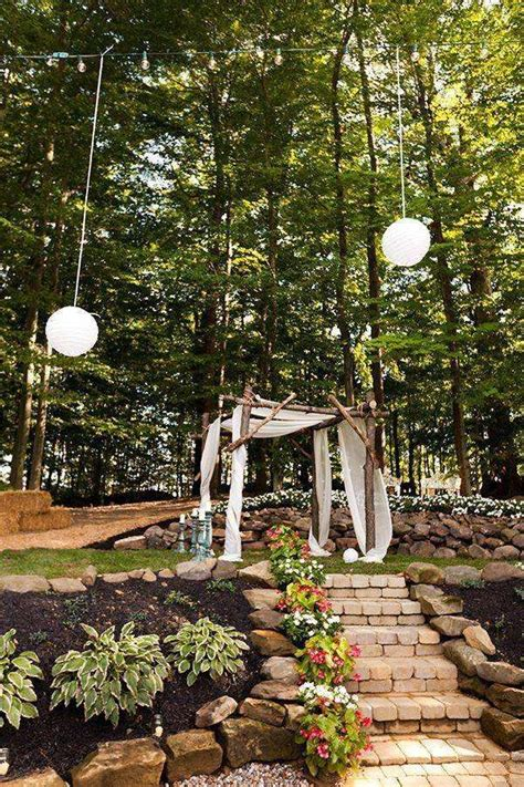 Diy Backyard Wedding Ideas by And Zac S 7 000 Backyard Wedding
