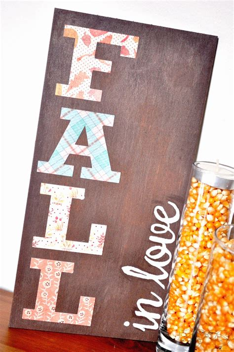 Diy Home Decor Signs by Diy Fall Decor Signs The Love Nerds