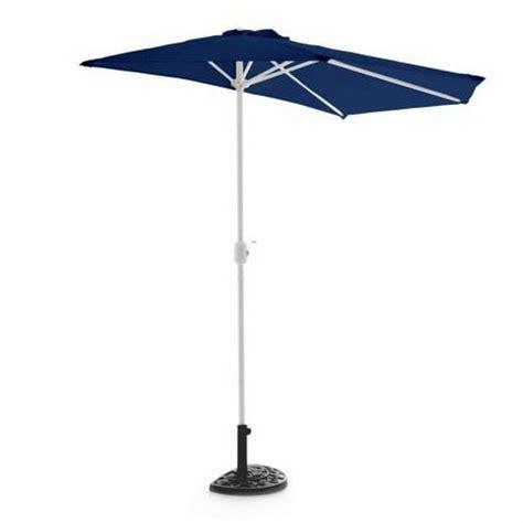 ombrellone terrazzo ombrellone da parete per balcone o terrazzo a mezzaluna