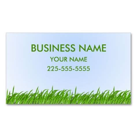 Landscaping Business Cards Templates Free by 210 Best Lawn Care Business Cards Images On