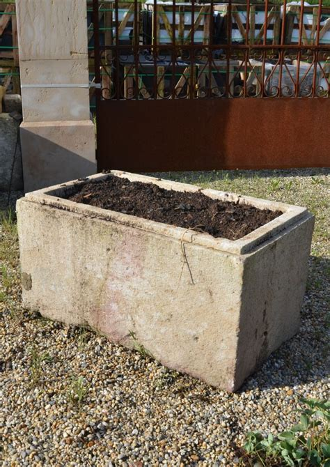 Limestone Planter by Antique Limestone Trough Or Planter