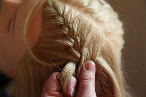 french braid pigtails instructions french ladder braid tutorial 183 how to style a french braid