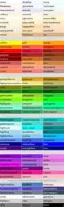 web color names html osnove 4 rad sa bojama