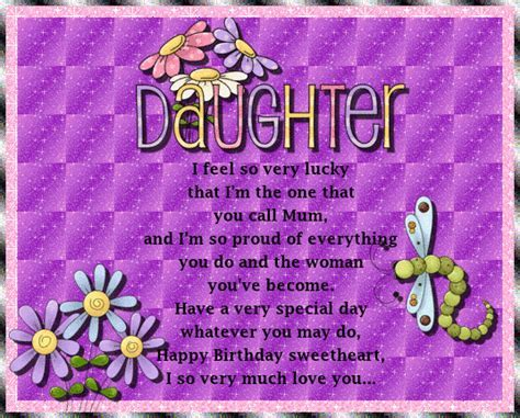 Happy Birthday To My Daughter. Free For Son & Daughter