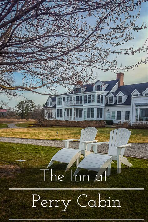 Inn At Perry Cabin Spa by The Inn At Perry Cabin Casual Luxury On Maryland S