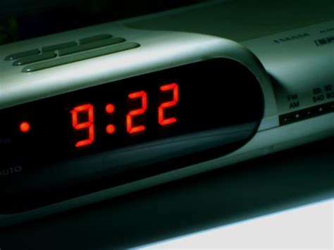 digital alarm clock history the worst part of waking up