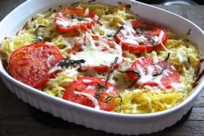 Cook Bake Oven Mitt Olive tomato basil spaghetti squash bake tasty kitchen a