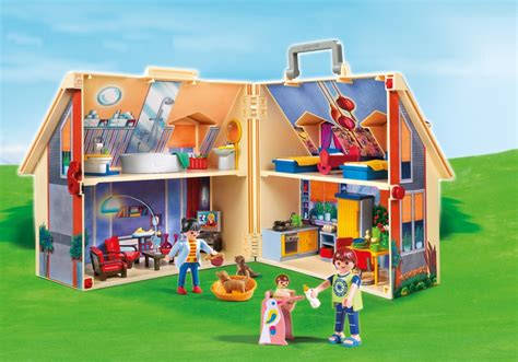 Playmobil Dollhouse Take Along Modern Doll House 5167
