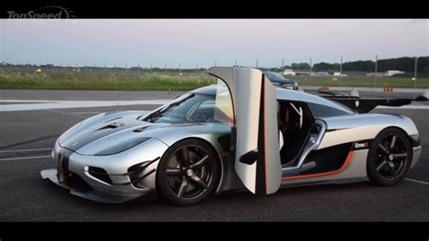 koenigsegg one 1 top speed koenigsegg one 1 sets new 0 300 0 km h record video news