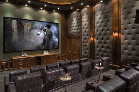 Faux Leather Dining Room Chairs by Soundproof Chair With Tufted Walls Home Theater