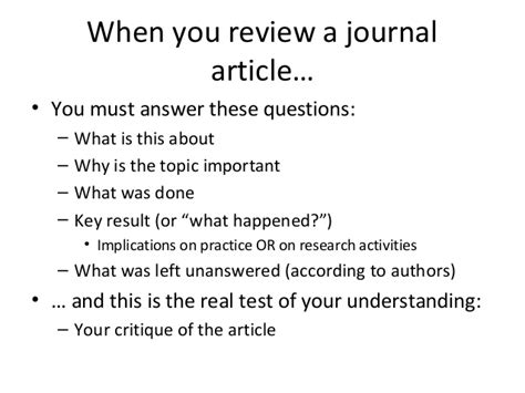 layout jornal ppt how to review a journal paper and prepare oral presentation