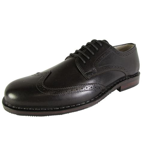 mens oxford dress shoes steve madden mens lyford wingtip oxford dress shoes ebay