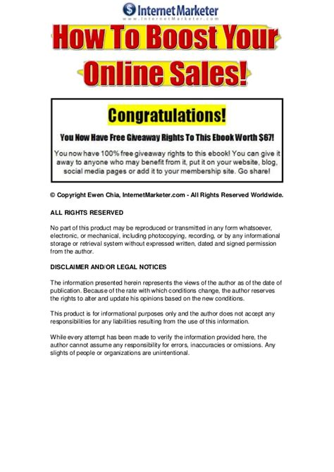 How To Make Money Online Sales - how to boost your online sales instantly make money online mini e b