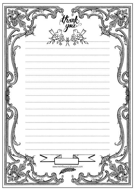 printable writing paper ausruckbares