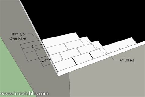 How To Install Asphalt Shingles On A Shed by Install Asphalt Shingles Drip Edge