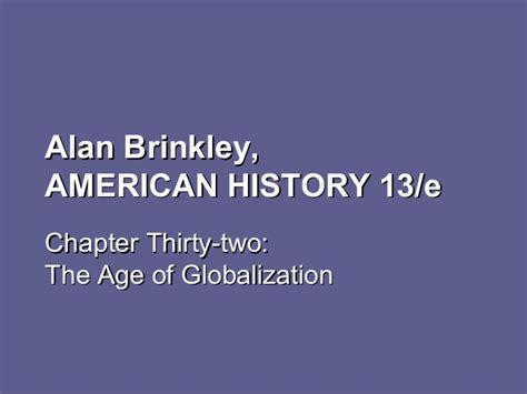 Apush Chapter 19 Notes Alan Brinkley